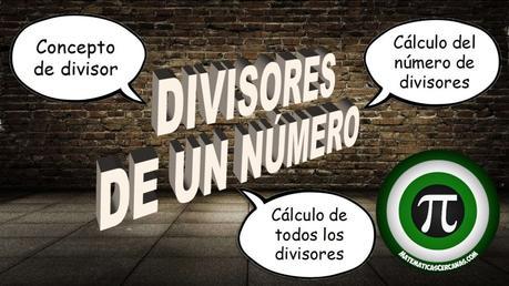 Divisores de un número