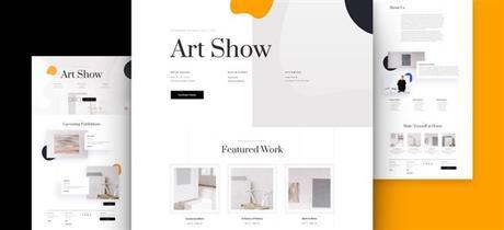 5+Mejores Plantillas WordPress para Pintores y Artistas
