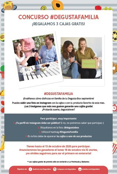 "DEGUSTABOX ""Familia"" de Septiembre 2020"