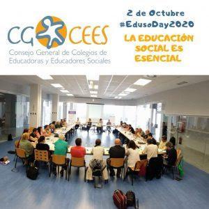 2 de octubre, 2020, Día de la Educación Social – Manifiesto del CGCEES