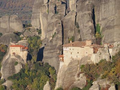 Meteora, los monasterios en las alturas.