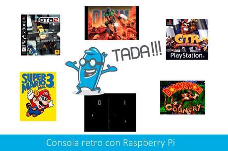 Emulador Consola Raspberry Pi