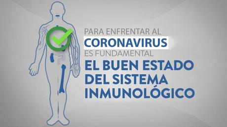 Defensas a tope contra coronavirus