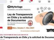 """Próxima presentación MyHeritage Español """"Ley Transparencia Chile solicitud documentos"""""""