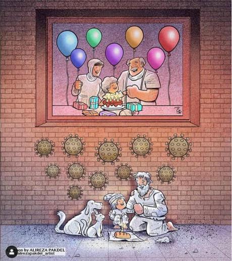Más de Alireza Pakdel, el famoso ilustrador del Coronavirus