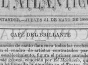 «Café Brillante», café cantante flamenco Santander