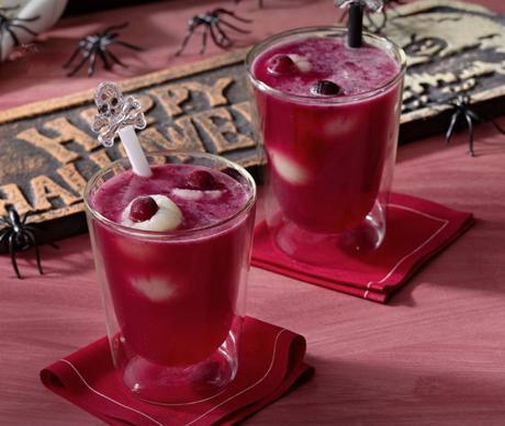 Receta de Halloween - Bebida de Sangre