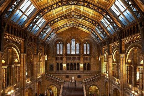 Hall del Natural History Museum de Londres