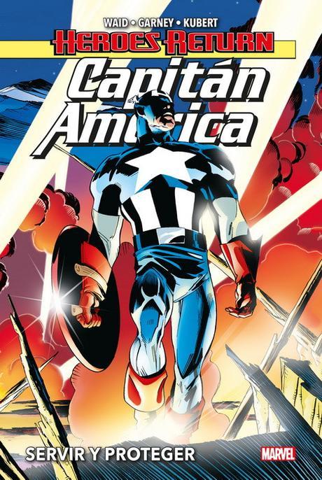 Capitán América: Servir y proteger-El patriota que ayuda a los más débiles