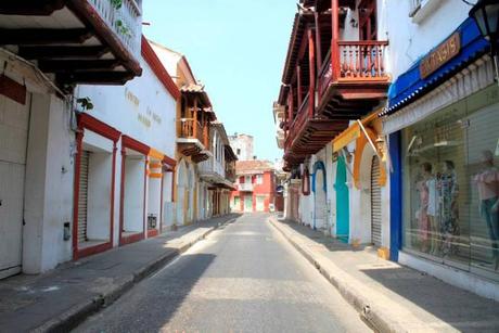 CALLE DE LA MONEDA | CARTAGENA, COLOMBIA