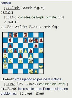 Grandes combates canarios (24) - Polugaevsky vs Pomar, Las Palmas (2) 1974