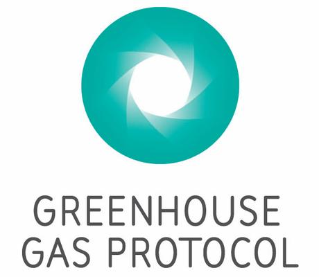 Logotipo de la iniciativa Greenhouse Gas Protocol
