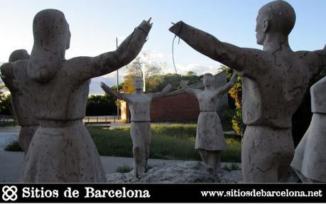 La Sardana, un monumento representativo vistima de una agresión