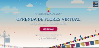 Tutorial para Participar en la Ofrenda Virtual a la Virgen del Pilar