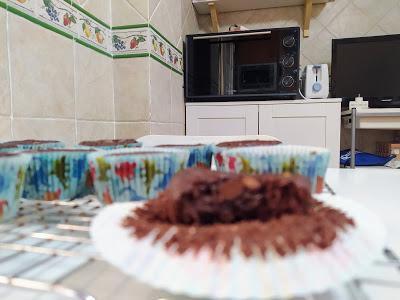 Muffins de chocolate - Veganos