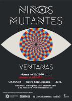 Concierto de Niños Mutantes en el Teatro CajaGranada