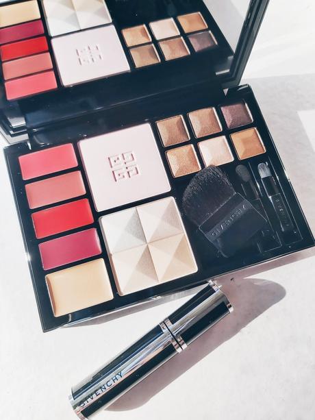 Paleta Travel Essentials Givenchy, todo en uno.
