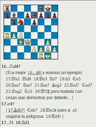 Grandes combates canarios (28) - Beliavsky vs Quinteros, Las Palmas (3) 1974