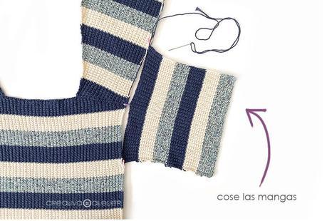 Cómo tejer la chaqueta de punto MAREA - Patrón y Tutorial -