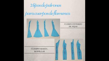 Patron Falda Ensayo Flamenco