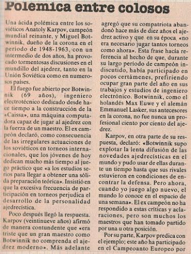 El baúl de los recuerdos (1) - Botvinnik vs Vidmar, Nottingham (13) 25.08.1936