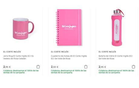 Compras rosas: Día Mundial contra el cáncer de mama