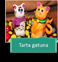 TARTA DE CUMPLEAÑOS FAMILIA GATUNA