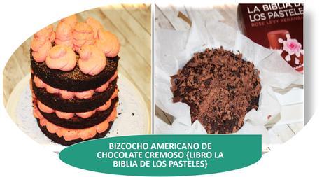 BIZCOCHO AMERICANO DE CHOCOLATE CREMOSO {LIBRO LA BIBLIA DE LOS PASTELES}