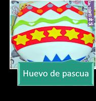 PASTEL HUEVO DE PASCUA