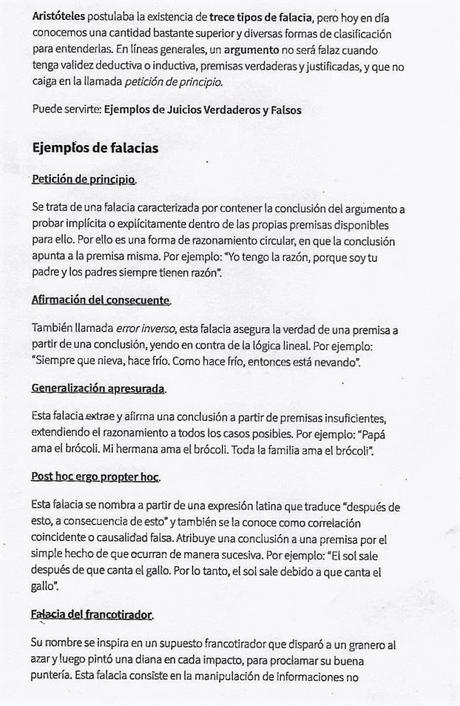 MÁS EJEMPLOS DE FALACIAS