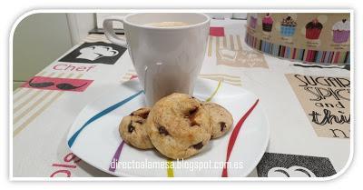Cookies rellenas de dulce de leche