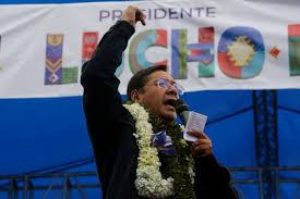 Luis Arce gana presidencia de Bolivia