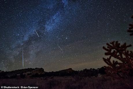 Esta semana las Oriónidas también serán las protagonistas: la lluvia de meteoros de los restos del cometa Halley