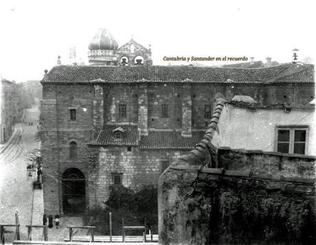 1890:Iglesia de San Francisco y cúpula del Ayuntamiento