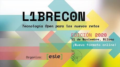 LIBRECON 2020 se celebrará el 11 de noviembre en Bilbao
