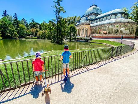 7 parques de Madrid para disfrutar con niños