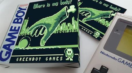 Disponible en cartucho Where is my body?, nuevo juego para Game Boy
