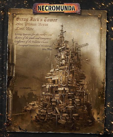 Scrag Jack's Tower, de Louise Sugden, para House of Iron