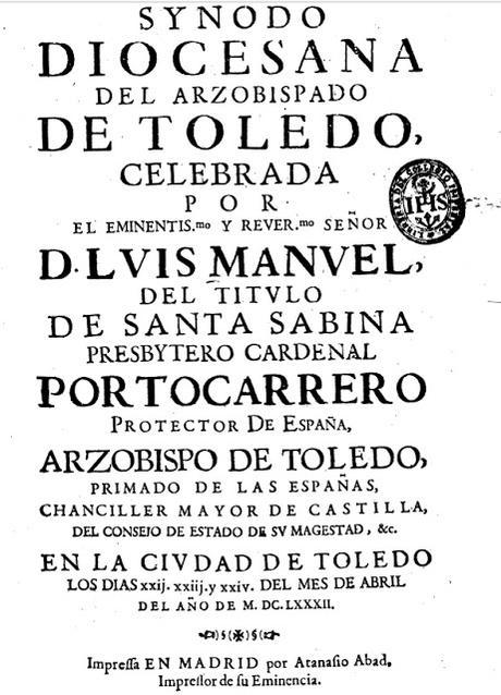 Toque del Angelus o de Avemarias en el Antiguo Arzobispado de Toledo