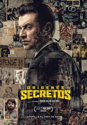 ORÍGENES SECRETOS (España, 2020) Policíaco, Comedia, Psycho Killer