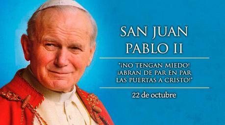 22 de Octubre: Día de San Juan Pablo II