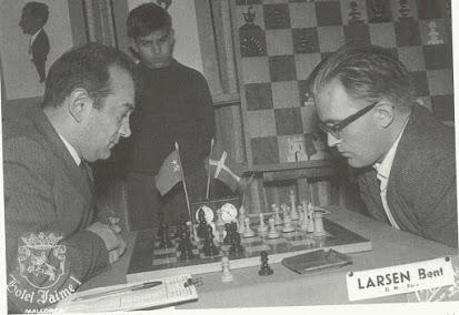 El baúl de los recuerdos (8) - Larsen vs Korchnoi (14) 10.12.1968