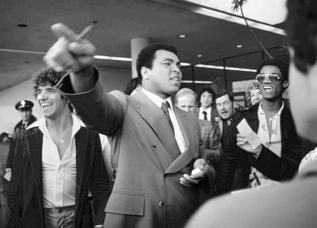 Cassius Clay en Madrid
