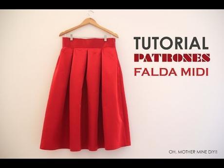 Faldas Con Paletones Largas