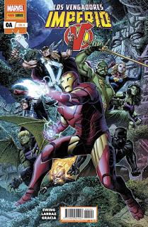 CRITIQUITA 501: Los Vengadores: Imperio nº 0A, A. Ewing y P. Larraz Panini-Marvel 2020