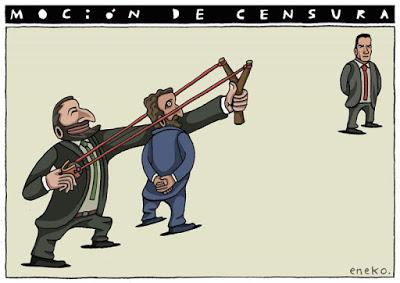 Santiago Abascal, un candidato a presidente con sueldo y pistola, fracasa en su moción de censura en el Congreso.