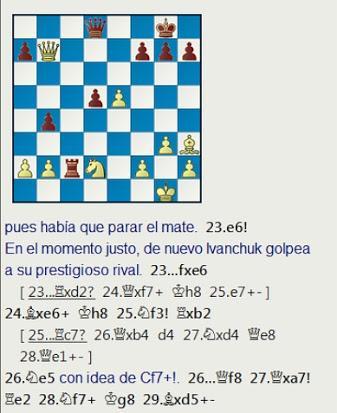 El baúl de los recuerdos (11) - Ivanchuk vs Gulko, Open de Nueva York, 1988