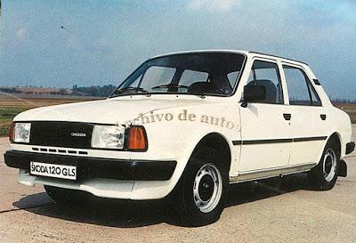 Škoda 105 y 120 del año 1984