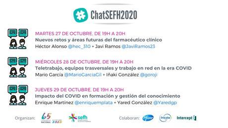 [12×12] Nos vemos en… #ChatSEFH2020: teletrabajo, equipos transversales y trabajo en red en la era COVID.