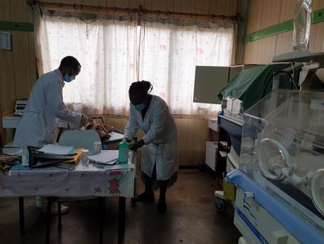 La primera UCI Neonatal rural en el Hospital de Gambo, Etiopía